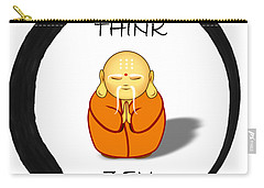 Zen Symbol With Buddha Carry-all Pouch