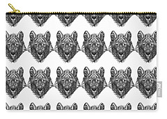 Zendoodle Wolf Carry-all Pouch