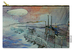Zeppelin Z59 Carry-all Pouch by Ray Agius