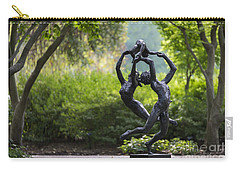 Carry-all Pouch featuring the photograph Zerogee by Andrea Silies