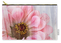 Sheer Zinnia Carry-all Pouch by Betty Denise