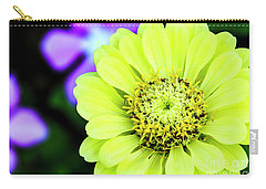 Zinnia Flower Carry-all Pouch