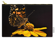 Zinnia Sipping Carry-all Pouch by Alana Thrower
