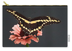 Zinnia With Butterfly 2708  Carry-all Pouch