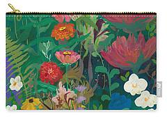 Zinnias Garden Carry-all Pouch