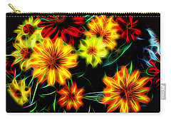 Zinnias With Zest Carry-all Pouch