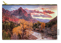 Zion Autumn Sunset Carry-all Pouch