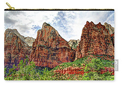 Zion N P # 41 - Court Of The Patriarchs Carry-all Pouch