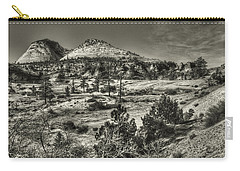 Zion National Park Along Rt 9 Carry-all Pouch