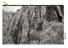 Zion National Park Sepia Tones  Carry-all Pouch