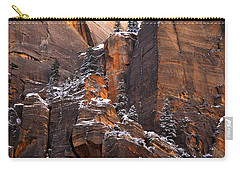 Carry-all Pouch featuring the photograph Zion Staircase  by Dustin LeFevre
