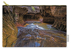 Zion Subway Carry-all Pouch by Jonathan Davison