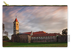 Carry-all Pouch featuring the photograph Zrinskis' Castle by Davor Zerjav