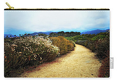 Carry-all Pouch featuring the photograph Zuma Beach Pathway by Glenn McCarthy Art and Photography