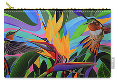 Zumbador Canela Carry-all Pouch by Angel Ortiz