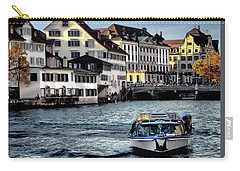 Carry-all Pouch featuring the photograph Zurich by Jim Hill