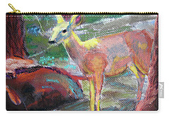 011719 Bambi 's Day Out Carry-all Pouch