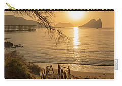 Access To The Beach At Dawn Carry-all Pouch