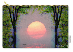Carry-all Pouch featuring the digital art A New Day by Edmund Nagele