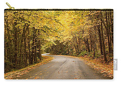 Carry-all Pouch featuring the photograph Autumn Drive by Brian Eberly