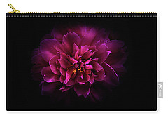 Carry-all Pouch featuring the photograph Backyard Flowers 55 Color Version by Brian Carson