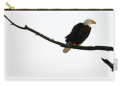 Carry-all Pouch featuring the photograph Bald Eagle 120501 by Rick Veldman