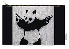 Banksy Panda Carry-all Pouch