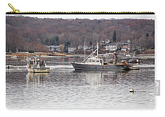 Boats At Northport Harbor Carry-all Pouch