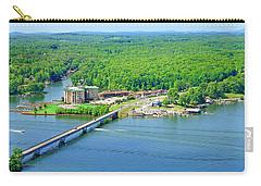 Bridgewater Plaza, Smith Mountain Lake, Va. Carry-all Pouch