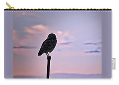 Burrowing Owl On A Stick Carry-all Pouch