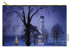 Carry-all Pouch featuring the photograph Christmas Eve by Edmund Nagele