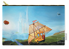 City On The Sea Carry-all Pouch