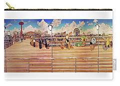 Coney Island Boardwalk Towel Version Carry-all Pouch