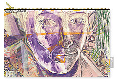 Cut Portrait Carry-all Pouch