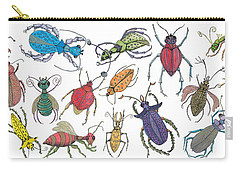 Doodle Bugs Carry-all Pouch