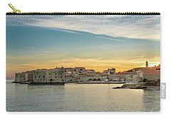 Dubrovnik Old Town At Sunset Carry-all Pouch