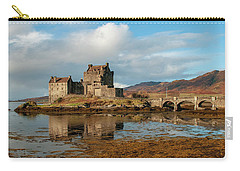 Scottish Landscape Mixed Media Carry-All Pouches