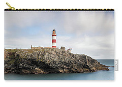 Carry-all Pouch featuring the photograph Eilean Glas Lighthouse - Western Isles by Grant Glendinning