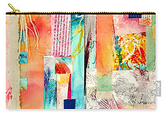 Carry-all Pouch featuring the painting Evermore by Tracy Bonin