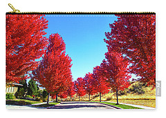 Carry-all Pouch featuring the photograph Fall In Boise by Dart and Suze Humeston