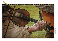 Carry-all Pouch featuring the photograph Fiddler by Guy Whiteley