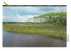 Carry-all Pouch featuring the photograph Florida Marshland by John M Bailey
