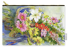 Flower Basket Carry-all Pouch