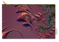 Fractal Playground In Pink Carry-all Pouch