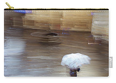 Carry-all Pouch featuring the photograph Gentle Rain by Alex Lapidus