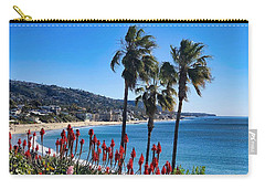 Carry-all Pouch featuring the photograph Laguna Beach by Brian Eberly