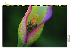 Carry-all Pouch featuring the photograph Lily  by John Rodrigues