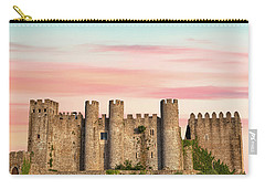Medieval Castle Of Obidos Carry-all Pouch