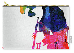Miles Watercolor Carry-all Pouch