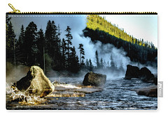 Carry-all Pouch featuring the photograph Misty Morning by Pete Federico